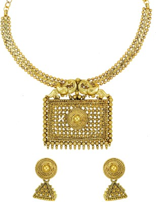 Zaveri Pearls Alloy Jewel Set(Gold) at flipkart