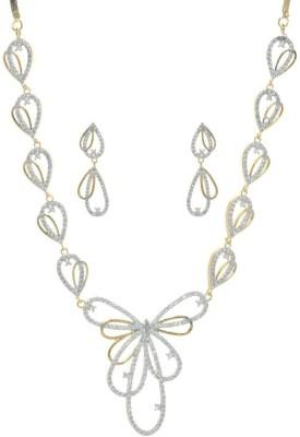 Gliteri Copper Jewel Set