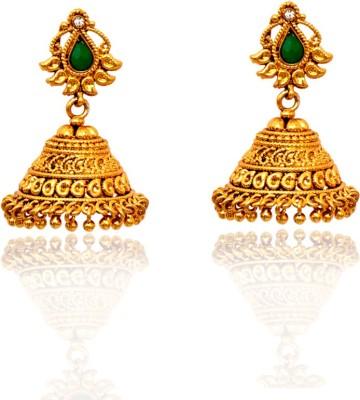Ratnakar Febric Copper Jhumki Earring