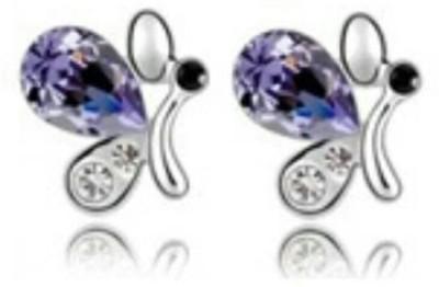 University Trendz Valentine Special UNIV_E048 Alloy Stud Earring