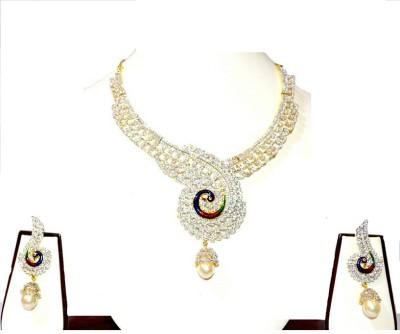 Opal Touch Alloy Jewel Set
