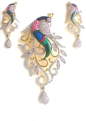 shreejicreations Brass Jewel Set