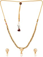 Golden Peacock Alloy Jewel Set(White) best price on Flipkart @ Rs. 1599