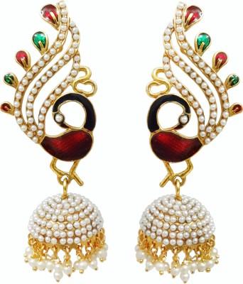 Chetan Arts Jewellery Beads Zinc Jhumki Earring