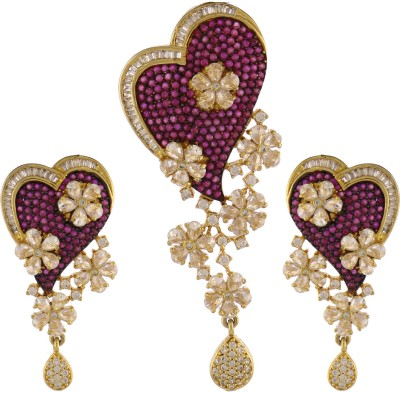 Artificial Jewellery Com Alloy Jewel Set(Multicolor)