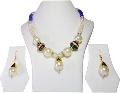 Vikash Enterprises Mother of Pearl Jewel Set