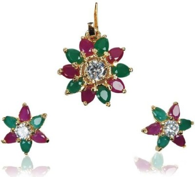 Rashi Jewellery Alloy Jewel Set(Multicolor)