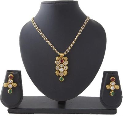 Aaina Home Decor Copper Jewel Set