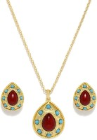 Golden Peacock Alloy Jewel Set(Gold) best price on Flipkart @ Rs. 1199
