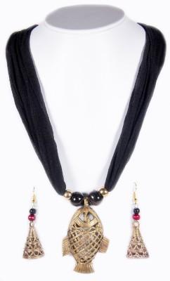 The Souq Brass Jewel Set