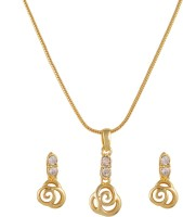 Golden Peacock Alloy Jewel Set(Gold) best price on Flipkart @ Rs. 599