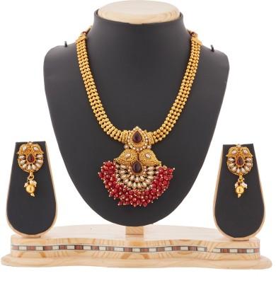 Reeva Fashion Jewellery Zinc Jewel Set(Multicolor)