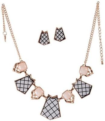 Fashnopolism Metal Jewel Set