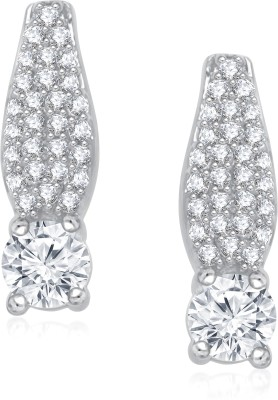 VK Jewels Beauteous Solitaire Cubic Zirconia Alloy Stud Earring