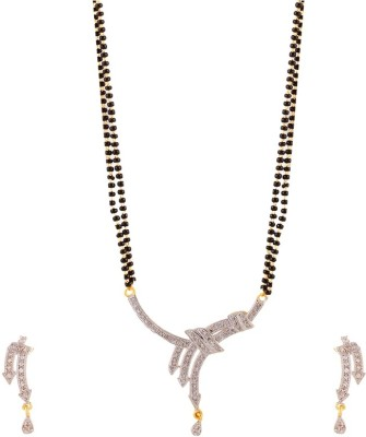 YouBella Alloy Jewel Set(White) at flipkart