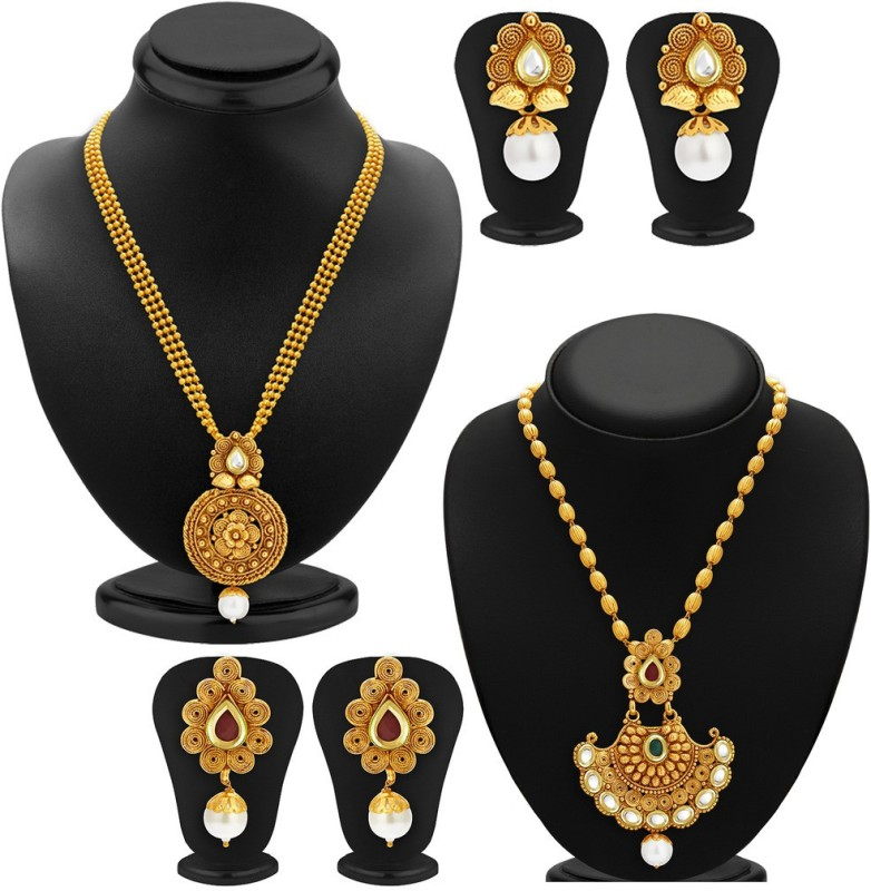 54eb4ae78157a Sukkhi Zinc Jewel Set(Gold) - ₹296 (Flipkart Hottest Deal) — Chilli ...