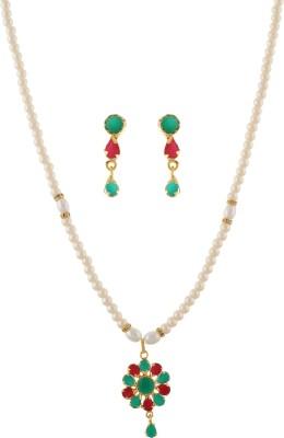 FreshMe Fashion Jewellery Alloy Jewel Set(Multicolor)