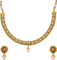 Aarvi Collections Copper Jewel Set(Gold) best price on Flipkart @ Rs. 1150