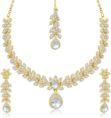 Sukkhi Zinc Jewel Set(Gold)
