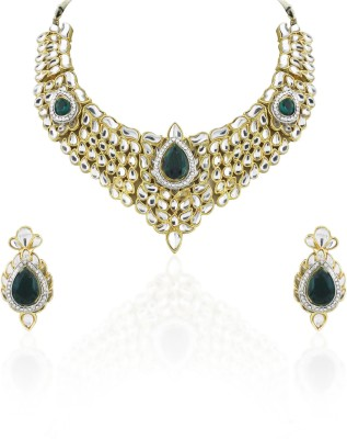 Sia Art Jewellery Alloy Jewel Set(Gold)