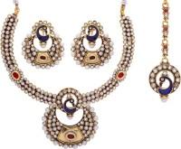 Prisha Collections Alloy Jewel Set(Multicolor) best price on Flipkart @ Rs. 2835