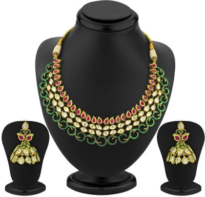 Sukkhi Copper Jewel Set(Gold) at flipkart