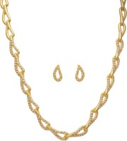 Golden Peacock Alloy Jewel Set(Gold) best price on Flipkart @ Rs. 699