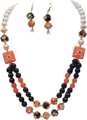 Jaipur Fashion Jewellery Acrylic Jewel Set(Multicolor)