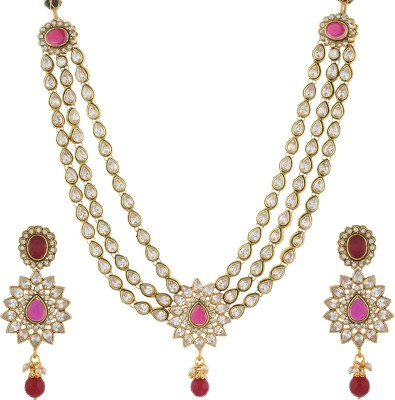 Chaahat Fashion Jewellery Alloy Jewel Set(Multicolor)