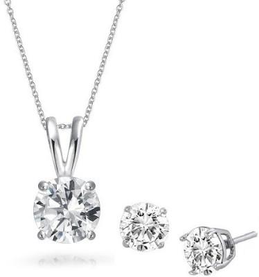 Fine Jewellers Alloy Jewel Set