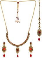 Golden Peacock Alloy Jewel Set best price on Flipkart @ Rs. 1649