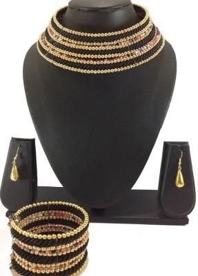 Shiv Kutumb Plastic Jewel Set