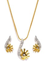 Golden Peacock Alloy Jewel Set(Gold) best price on Flipkart @ Rs. 575