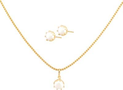 Vama Alloy, Brass Jewel Set