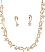 Golden Peacock Alloy Jewel Set(Gold) best price on Flipkart @ Rs. 775