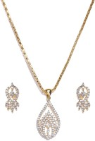 Golden Peacock Alloy Jewel Set best price on Flipkart @ Rs. 699