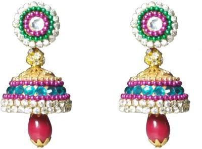 NKL Creations Nkl Creations Qj36 Paper Jhumki Earring