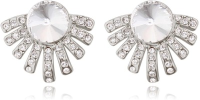 Atasi International American Diamond Look Crystal Alloy Stud Earring