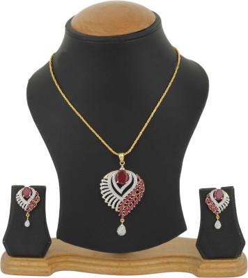 Bling N Beads Silver, Metal Jewel Set