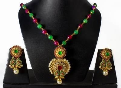 Tandra,s Fashion Jewellery Alloy Jewel Set(Multicolor)