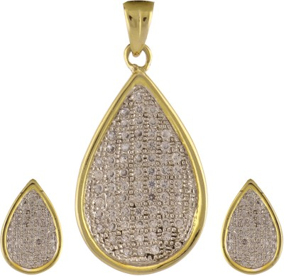 Artificial Jewellery Com Alloy Jewel Set(Gold)