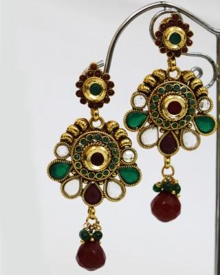 yash creations Yellow Gold Jewel Set