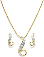 Golden Peacock Alloy Jewel Set(White) best price on Flipkart @ Rs. 675