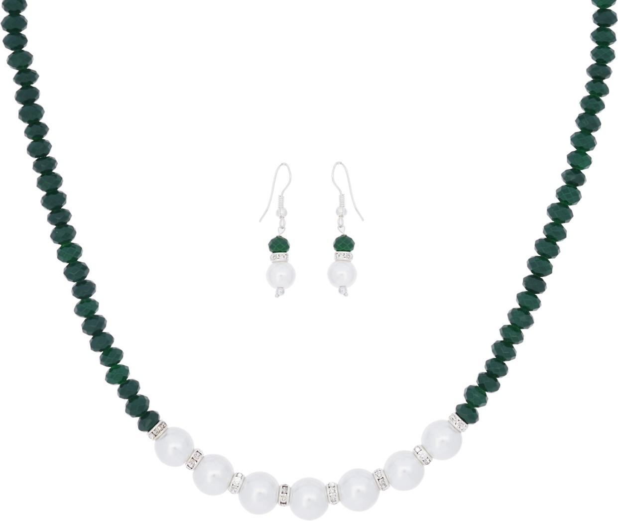 8ae3a06572c Shagun Alloy Jewel Set(White) was ₹399 now ₹225