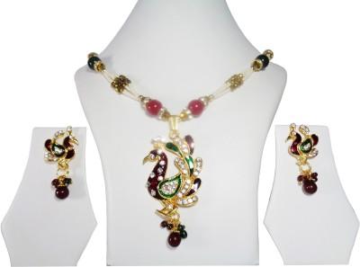 Vikash Enterprises Brass Jewel Set