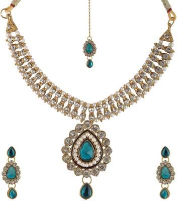 simco Brass Jewel Set