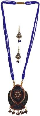 Dineshalini Metal Jewel Set