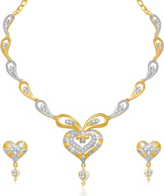VK Jewels Alloy Jewel Set(Gold)