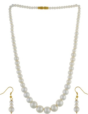 FreshMe Fashion Jewellery Alloy Jewel Set(White)