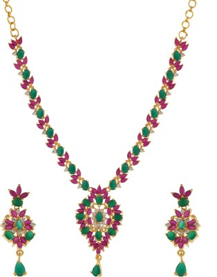 FreshMe Fashion Jewellery Alloy Jewel Set(Multicolor)